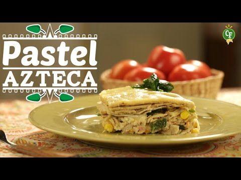 ¿Como preparar un Pastel Azteca?   Superchef: Un mundo de recetas en vídeo!