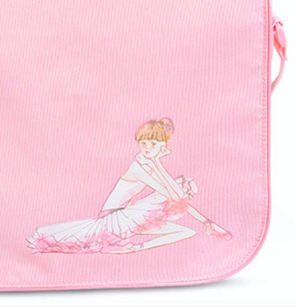 Lovely Ballerina Shoulder Bag <3  Shop Now! pinktutushop.com #dance #dancer #ballet #ballerina #pinktutu #pinktutushop #bag #dancebag #ballerinabag #balletbag #ballerinastuff #pink