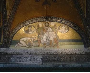 3- Mosaïque proseynèse de Léon VI le Sage, Eglise sainte sophie