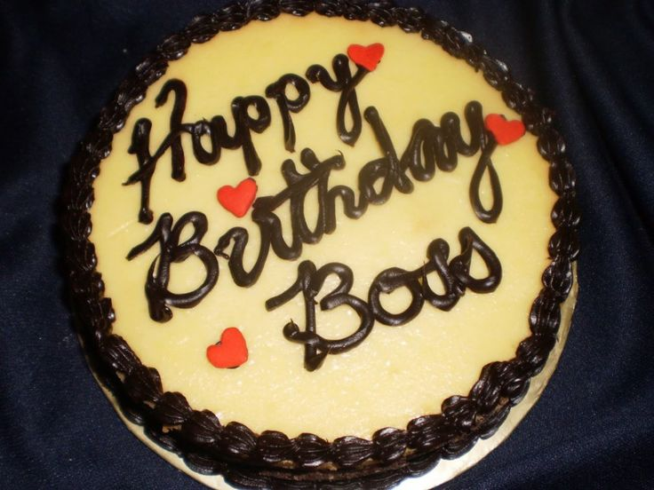Birthday Cake For Amit Sir : 1000+ ideas about Happy Birthday Boss on Pinterest Boss ...