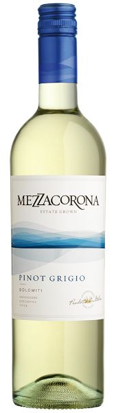 Mezzacorona Pinot Grigio ($16, but sometimes cheaper!) - a delightful white that complements soups, salads, and white meats. Its green apple and honeysuckle notes pair delightfully with crisp acidity, and make you think you've paid more for the bottle than you have.