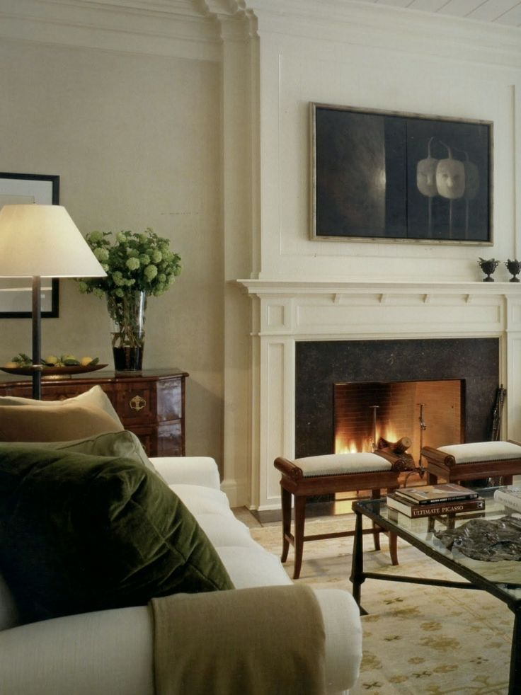 Best 25 fireplace mantel decorations ideas on pinterest - Decorating ideas living room fireplace ...