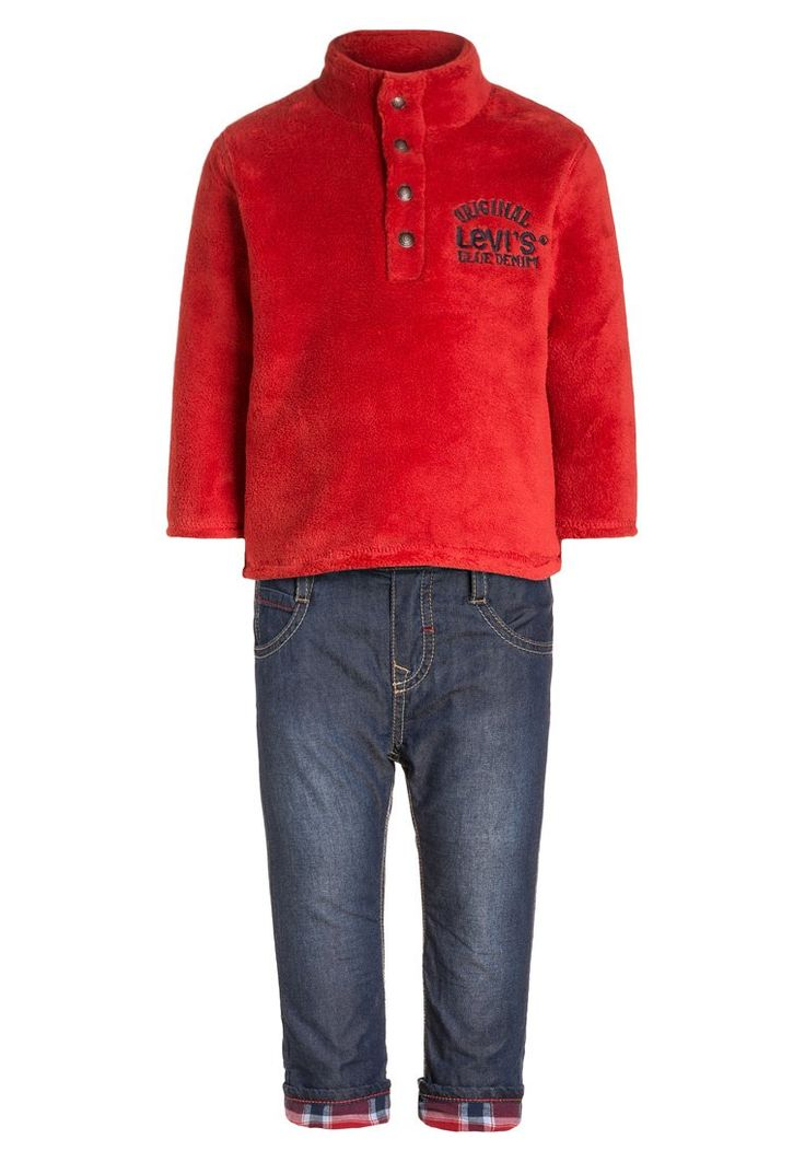 Levis® SET Fleece trui red, 55.95, http://kledingwinkel.nl/shop/kinderen/levis-set-fleece-trui-red/ Meer info via http://kledingwinkel.nl/shop/kinderen/levis-set-fleece-trui-red/