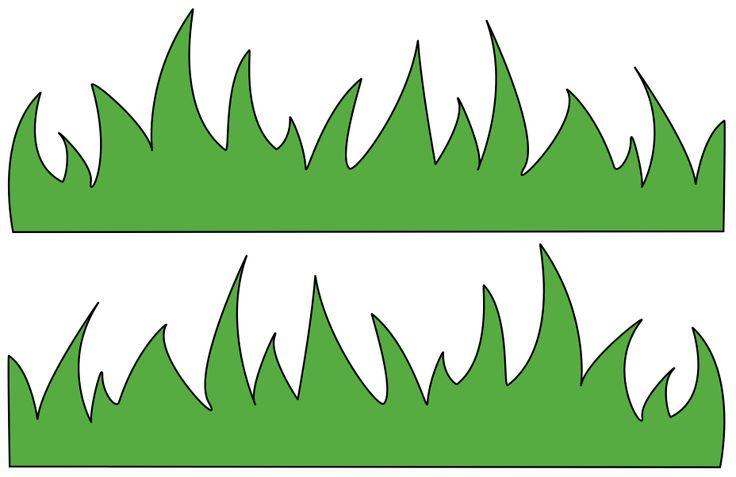 Printable Grass Template