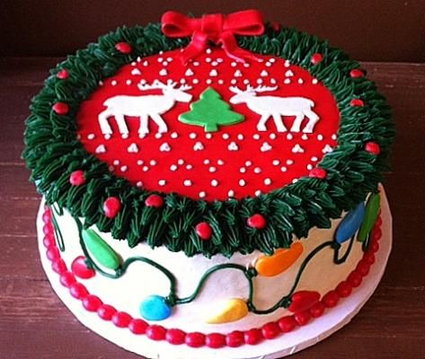 Tacky Christmas Sweater Cake - Makes me think of National Lampoon's Christmas