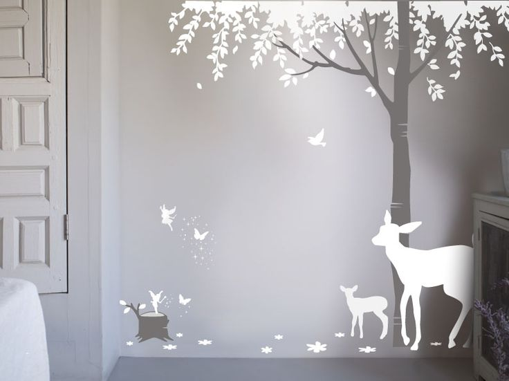 Magical Wood Wall Sticker, Bambizi
