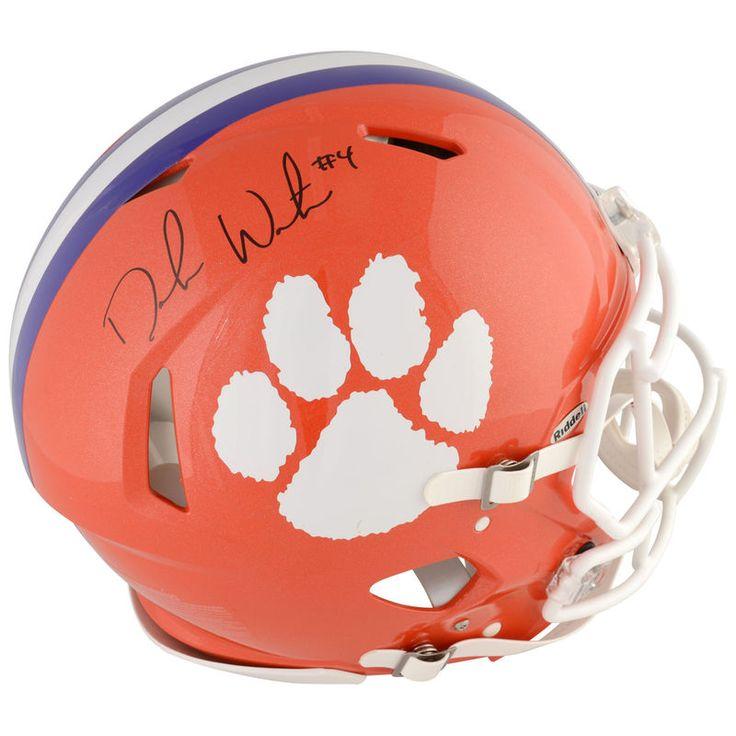 Deshaun Watson Clemson Tigers Fanatics Authentic Autographed Riddell Speed Pro-Line Helmet
