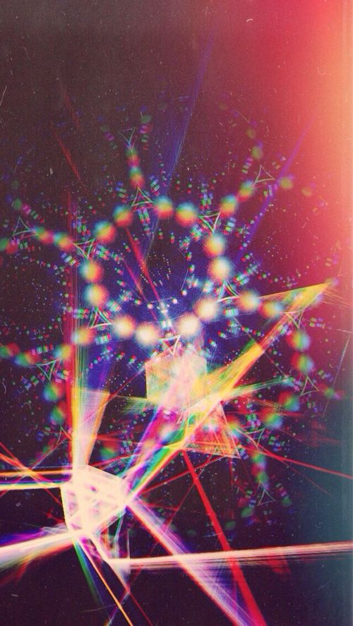 psychedelic light machine