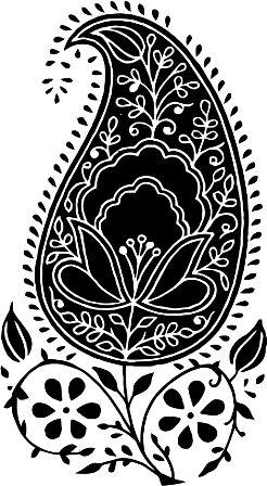 Индийский орнамент NA