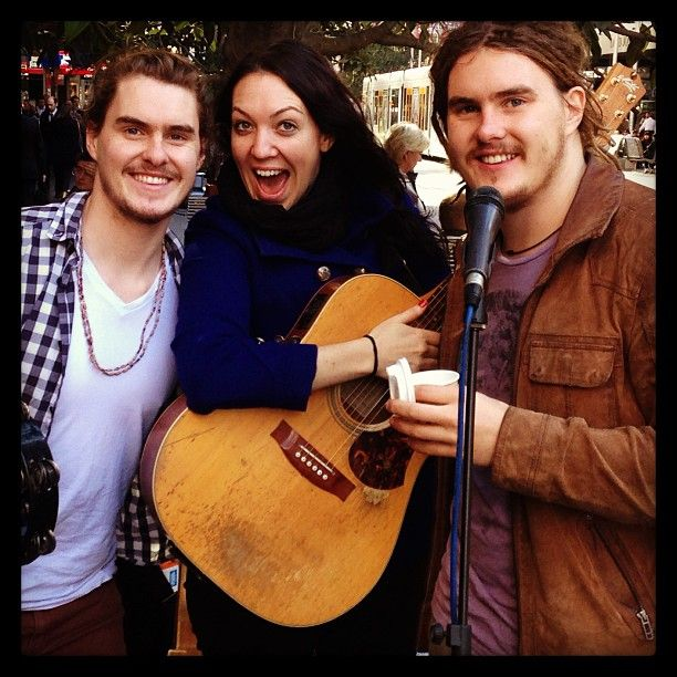 The Pierce Brothers from Melbourne. Amazing performers!