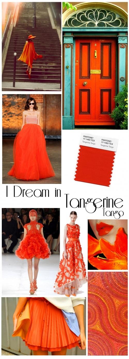 tangerine tango inspiration #mirabellabeauty #tangerine #tango
