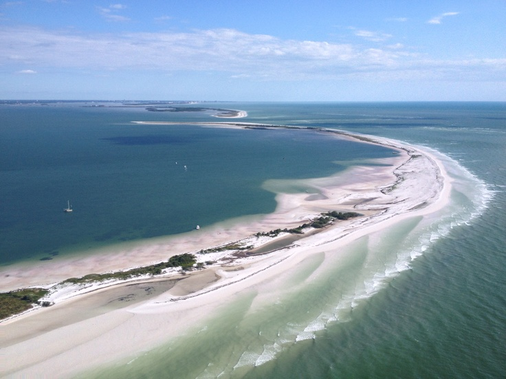 Three Rooker Island Off The Coast Of St Pete Clearwater