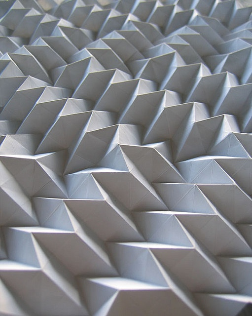 3D Tile: Pleating the pleated pleats by polyscene, via Flickr
