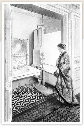 First Class Bathroom In Parlour Suite Titanic Interior