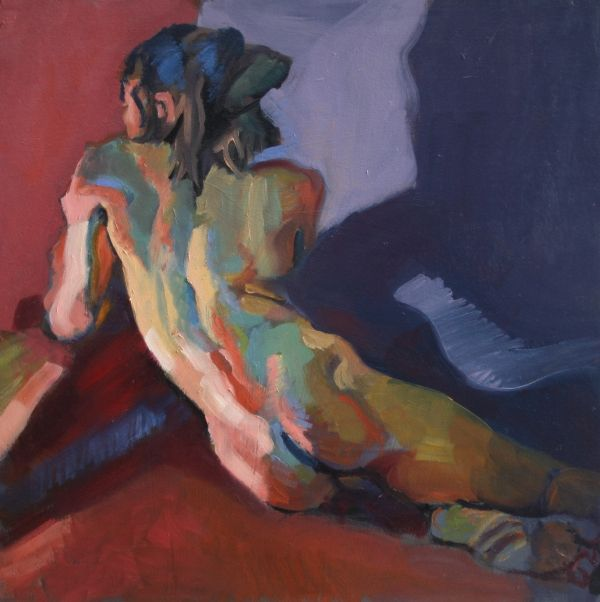 "Piotr Antonow (1965 Krakow). ""Nude Portrait of D"".: Piotr Antonow, Art Paintings, Nude Art, Nude Portraits, Figures Paintings, Nude Schilders, Antonow 1965, Pastel Paintings, Human Figures"