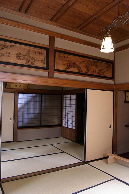 日本家屋、和室、畳