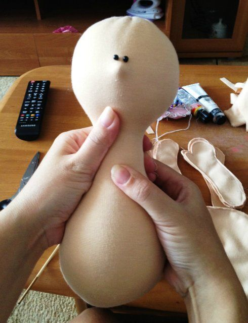 Hand made cloth doll tutorial