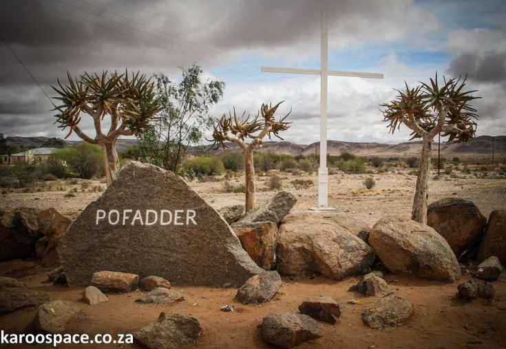 Pofadder. Namaqualand. South Africa