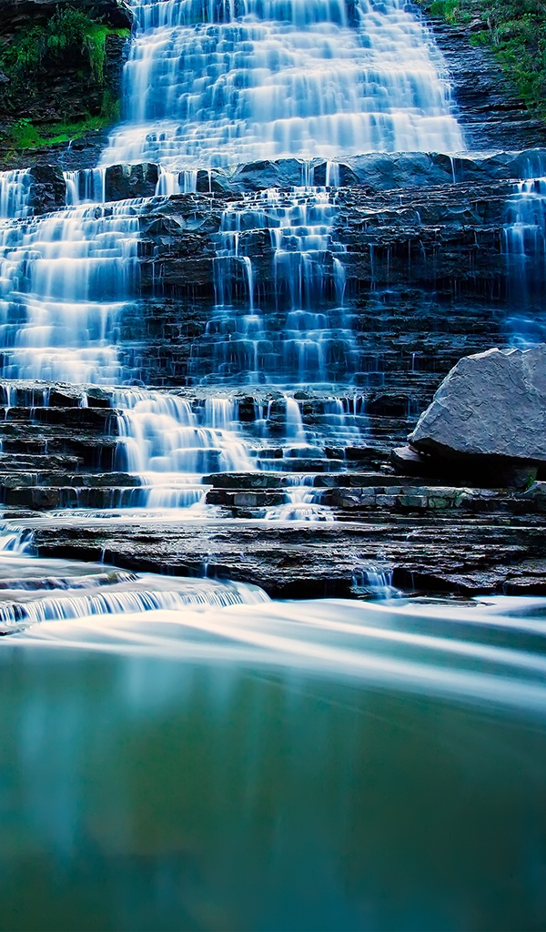 Albion Falls, Hamilton, Ontario.I want to visit here one day.Please check out my website thanks. www.photopix.co.nz #hamont #TimeToSee