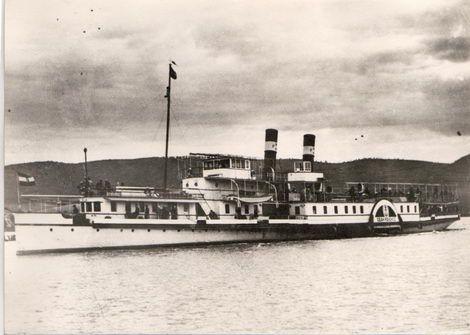 Hajóregiszter - Hajóadatlap: DUNAGYÖNGYE exDEÁK FERENCZ hajó