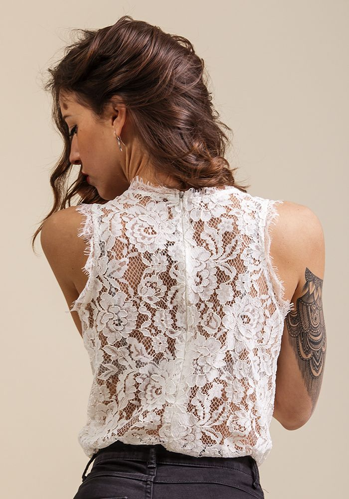 Through the Lace Top  by myfashionfruit.com
