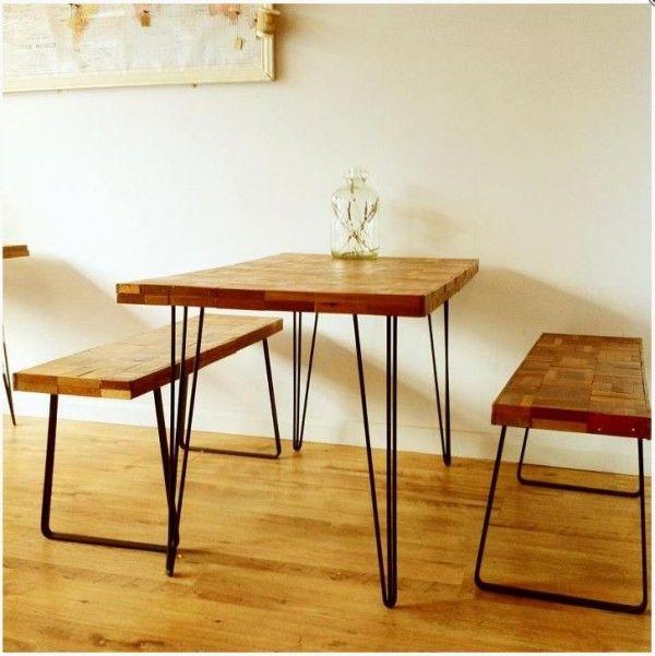 plus de 25 id es g niales de la cat gorie table avec pieds en pingle cheveux sur pinterest. Black Bedroom Furniture Sets. Home Design Ideas