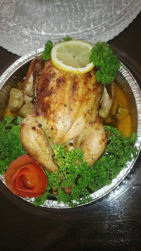 Rosemary chicken roasted