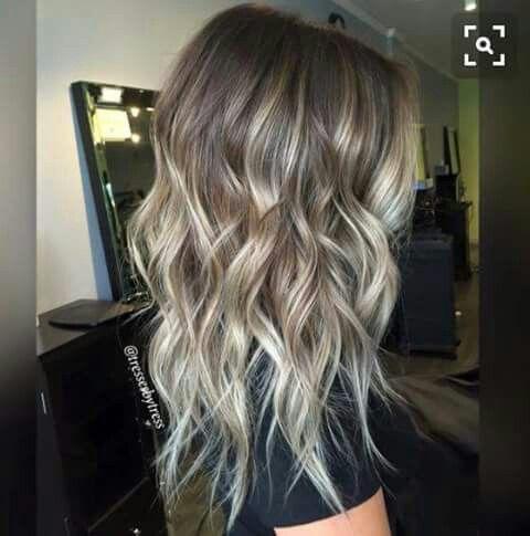 Love love this blond balage & hair length