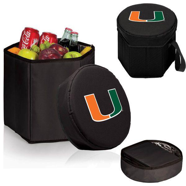 Miami Hurricanes 12 Quart Bongo Cooler - Black - $29.99