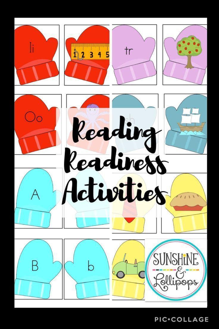 Winter Mitten Theme Activities And Skills For Reading Readiness Kindergarten Resources Kindergarten Readiness Skills Teaching Kindergarten [ 1104 x 736 Pixel ]