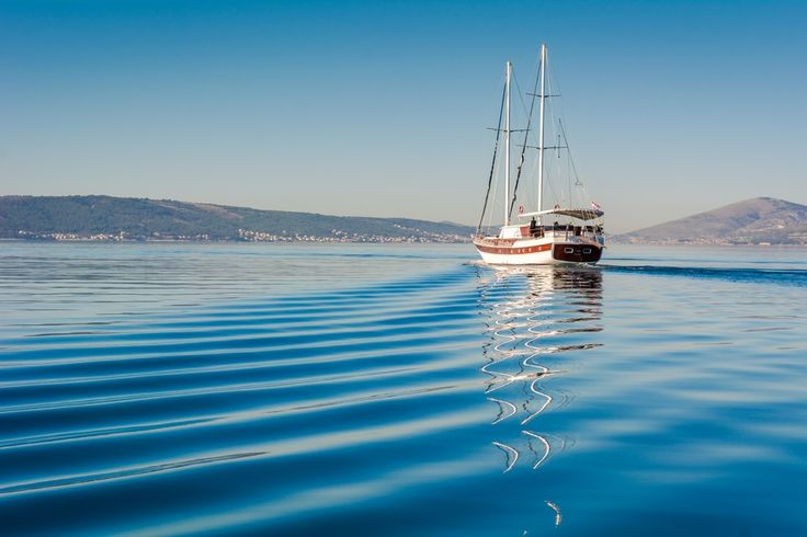 soft ripples in the morning and #gulet SAN #croatia affordable #luxury for 12