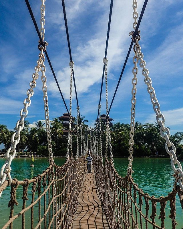 Sentosa Island, Singapore Day 22: An easy MRT ride from the city takes you to…