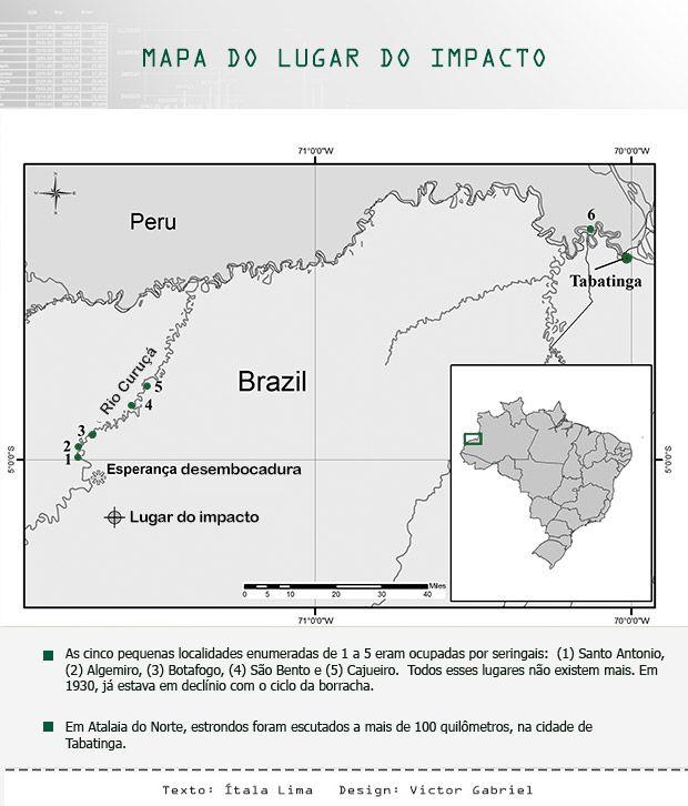 Caso Tunguska Brasileiro: o meteoro que abriu uma cratera na floresta amazônica - Portal Amazônia