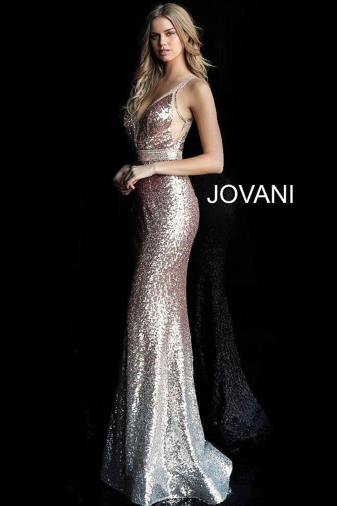 Rose Gold Prom Dress Metallic Dresses Prom Dress Prom 2019 Silver Prom Dress Gold Prom Dress Gunmetal Dres Prom Dresses Ombre Prom Dresses Jovani Dresses