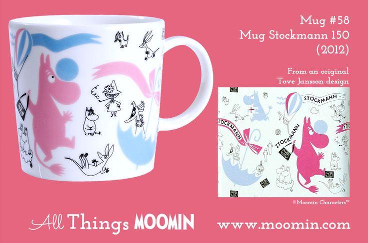 58 Moomin mug Stockmann 150 Special Mug
