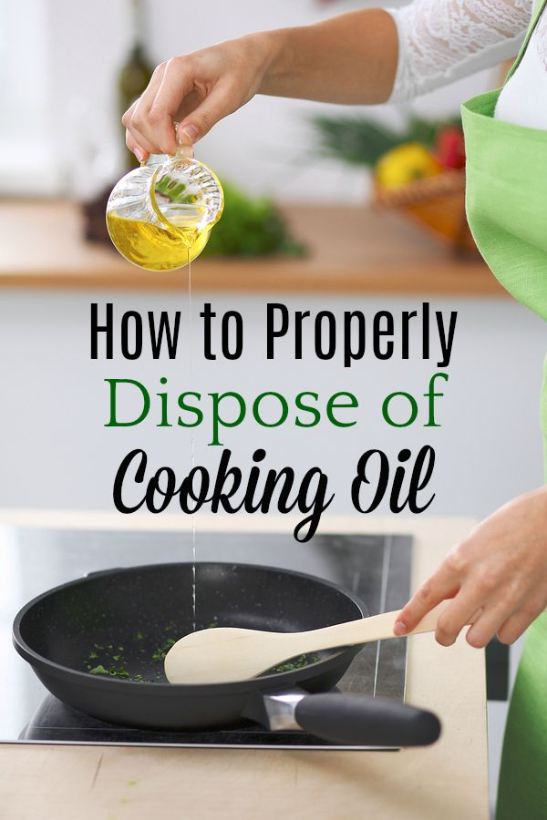 21++ What to do with leftover cooking oil info