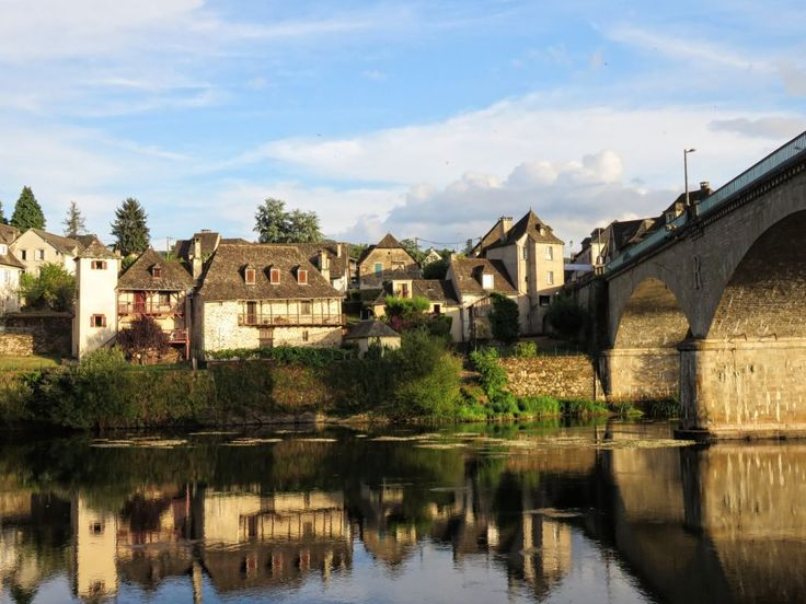 Sunset view of Argentat; The most charming villages of France - Along the Dordogne River   Ipanema travels to...