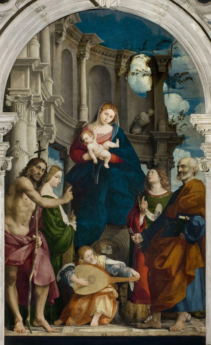 Giovanni Antonio de' Sacchis detto il Pordenone Pala di Susegana Susegana, Chiesa della Visitazione della Beata Vergine #UnCinquecentoInquieto
