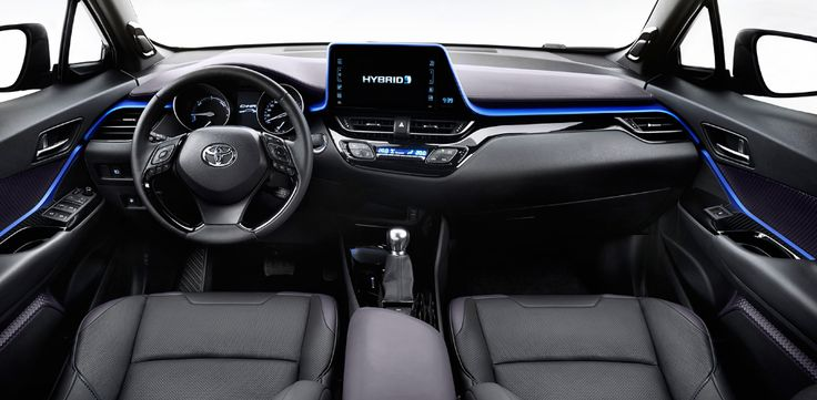 2018 Toyota C-HR Interior