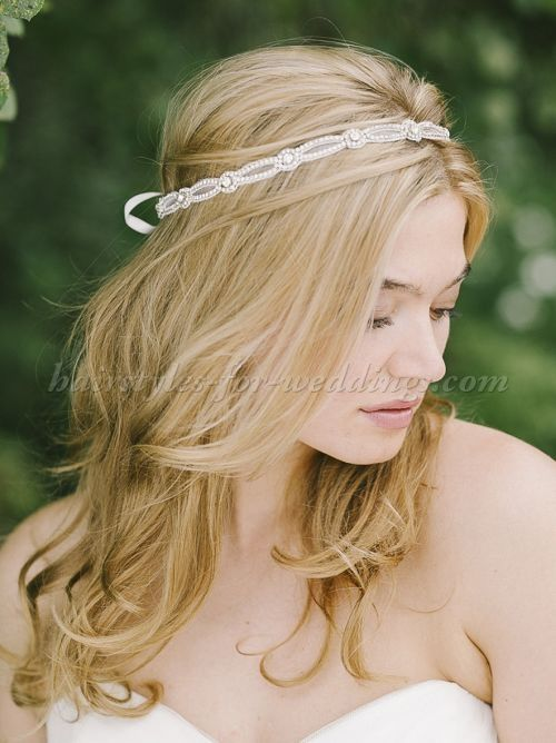 bridal headbands - bridal headband