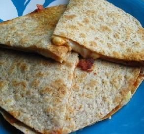 Lunch Box Pizza Quesadillas by Food.com