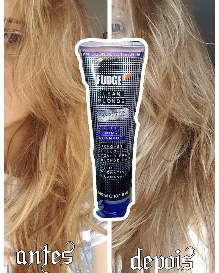 Que me dizem a este antes e depois?? #fudge #haircare