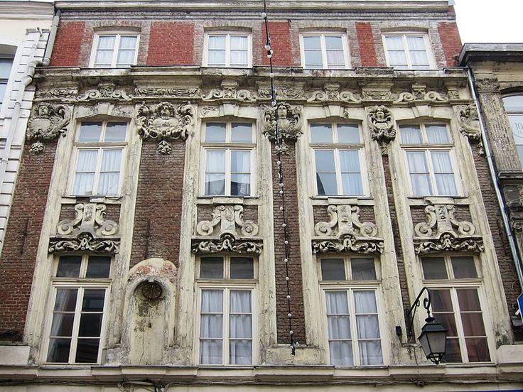 Immeuble 11 rue du Curé-Saint-Etienne à Lille.