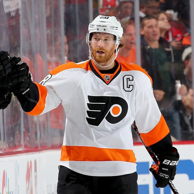"""nhl: """"After @philadelphiaflyers' game last night against the @stlouisblues Claude Giroux has scored at least one goal against all 29 teams he has faced."""""""