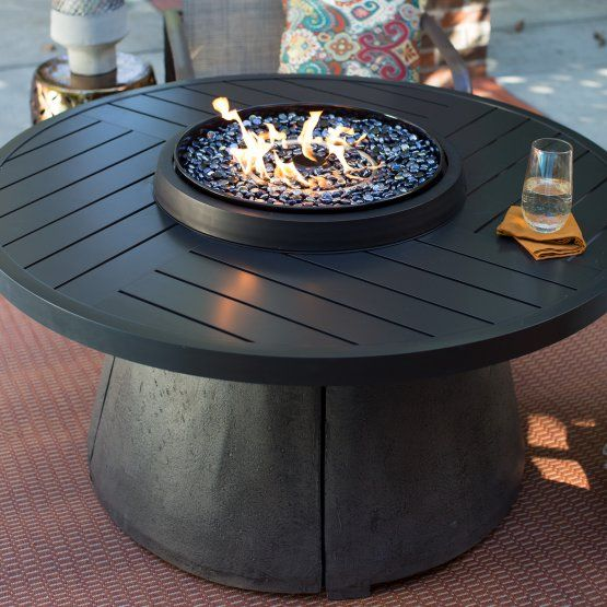 Agio Aragon 48 in. Fire Table with FREE Cover