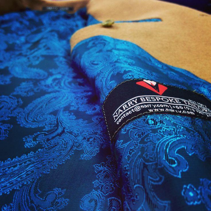#coat #lining #wintercoat #narrytailor #besttailors #bangkoktailors