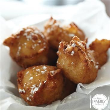 Banana Coconut Fritters by The Power of Family Meals