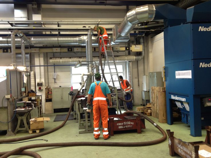 The Ormonde Slovakia, Industrial cleaning team at cleaning a ventilation system for a customer in Nitra Slovakia.