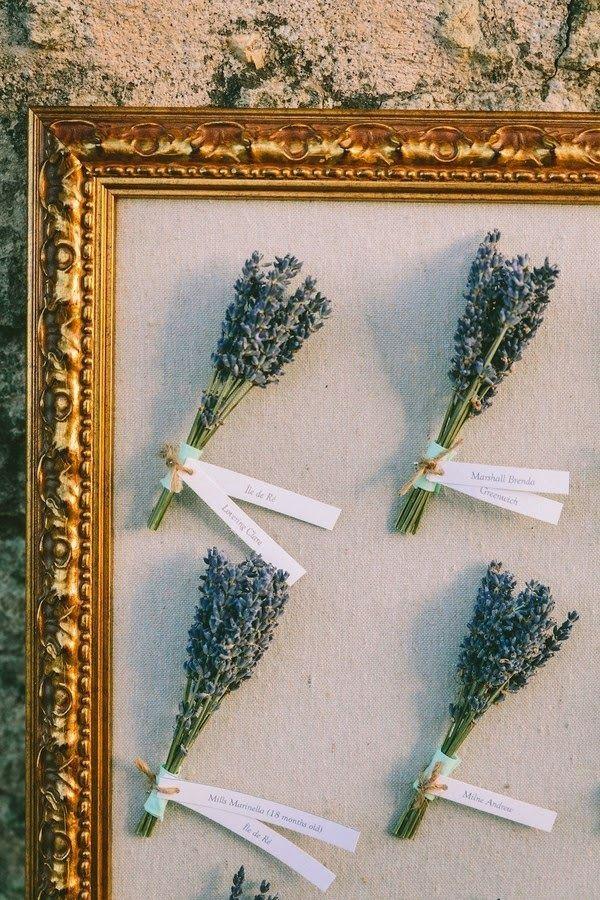 Un matrimonio lavanda e verde acqua, lavender