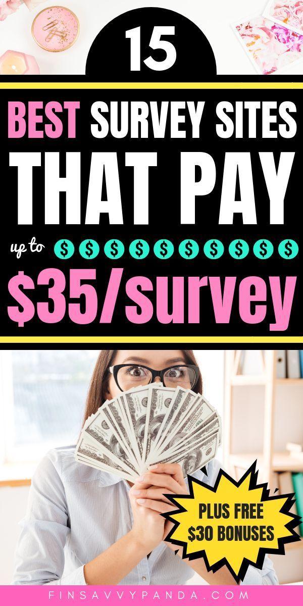 15 Best Survey Sites (That Actually Pay Cash | Paid Online